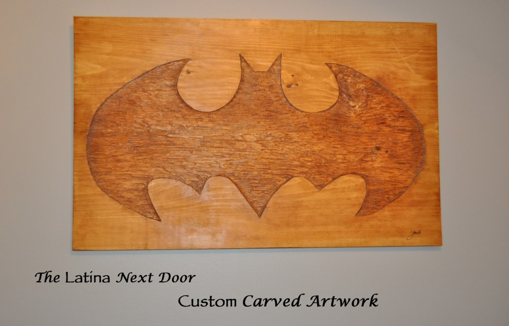 Batman Carving