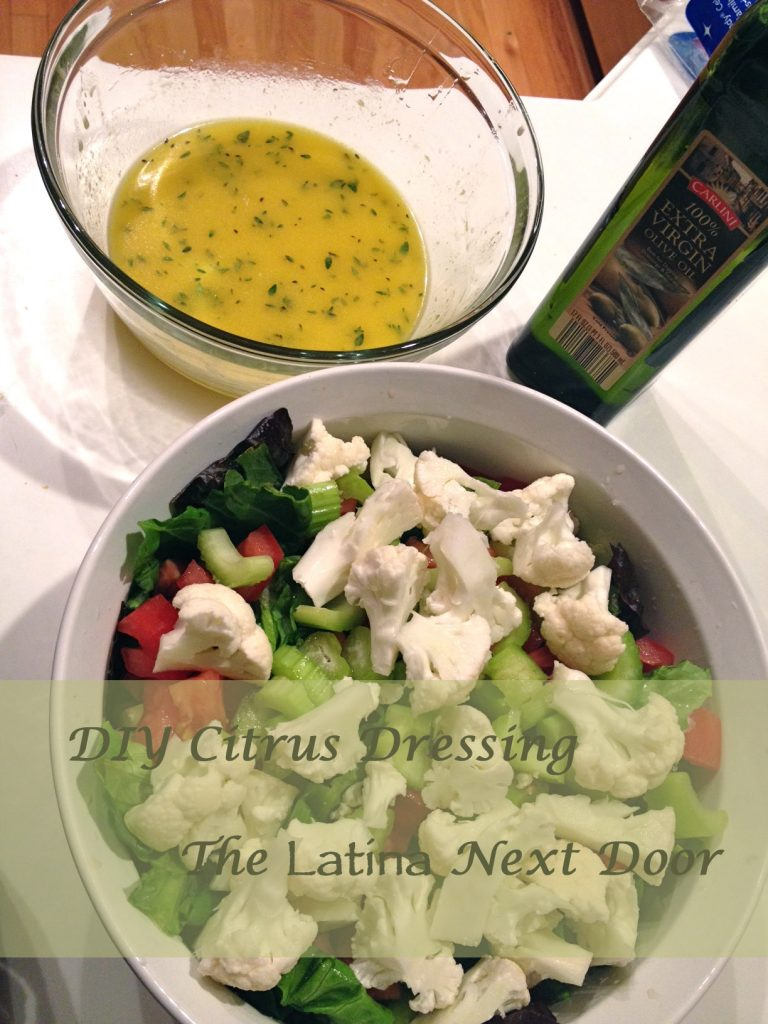 DIY Citrus Dressing