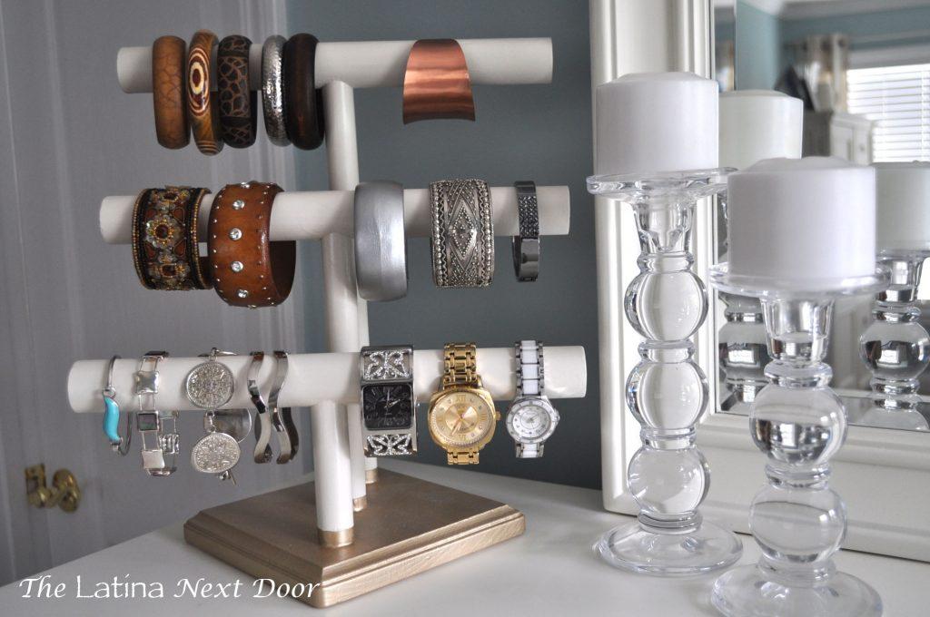 DIY Jewelry Holder 11