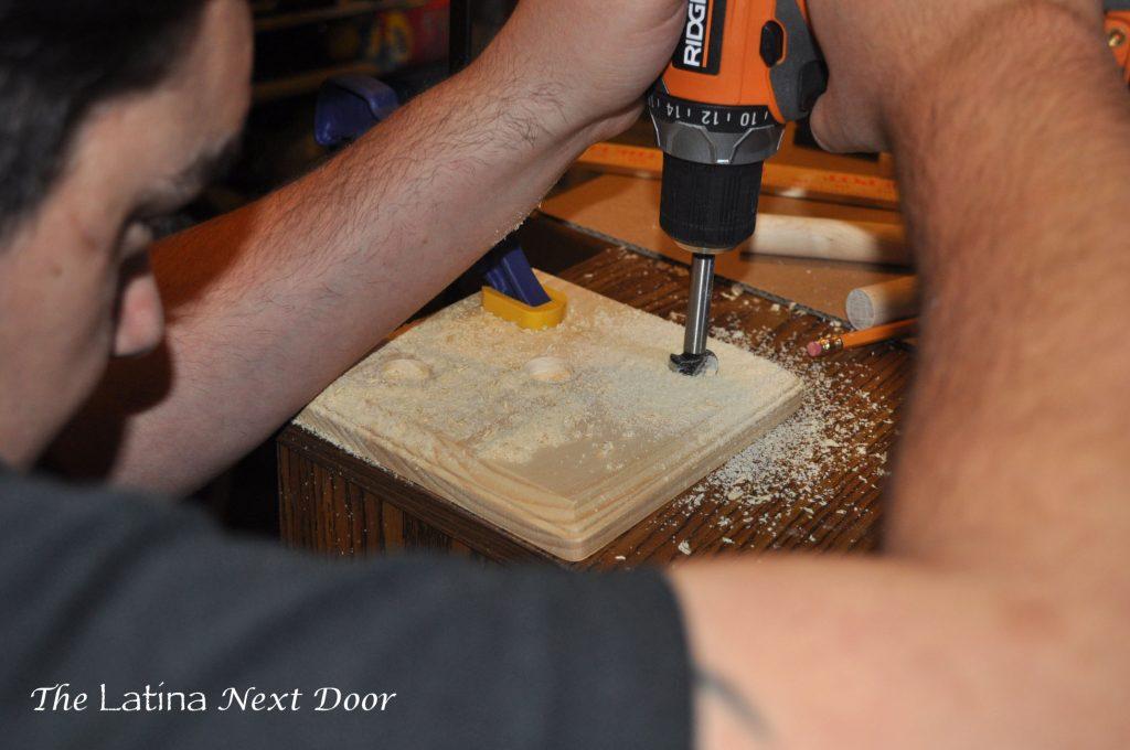 DIY Jewelry Holder 3