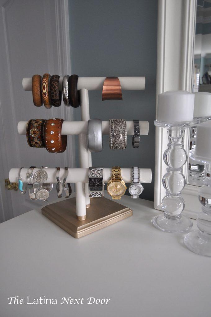 DIY Jewelry Holder 9