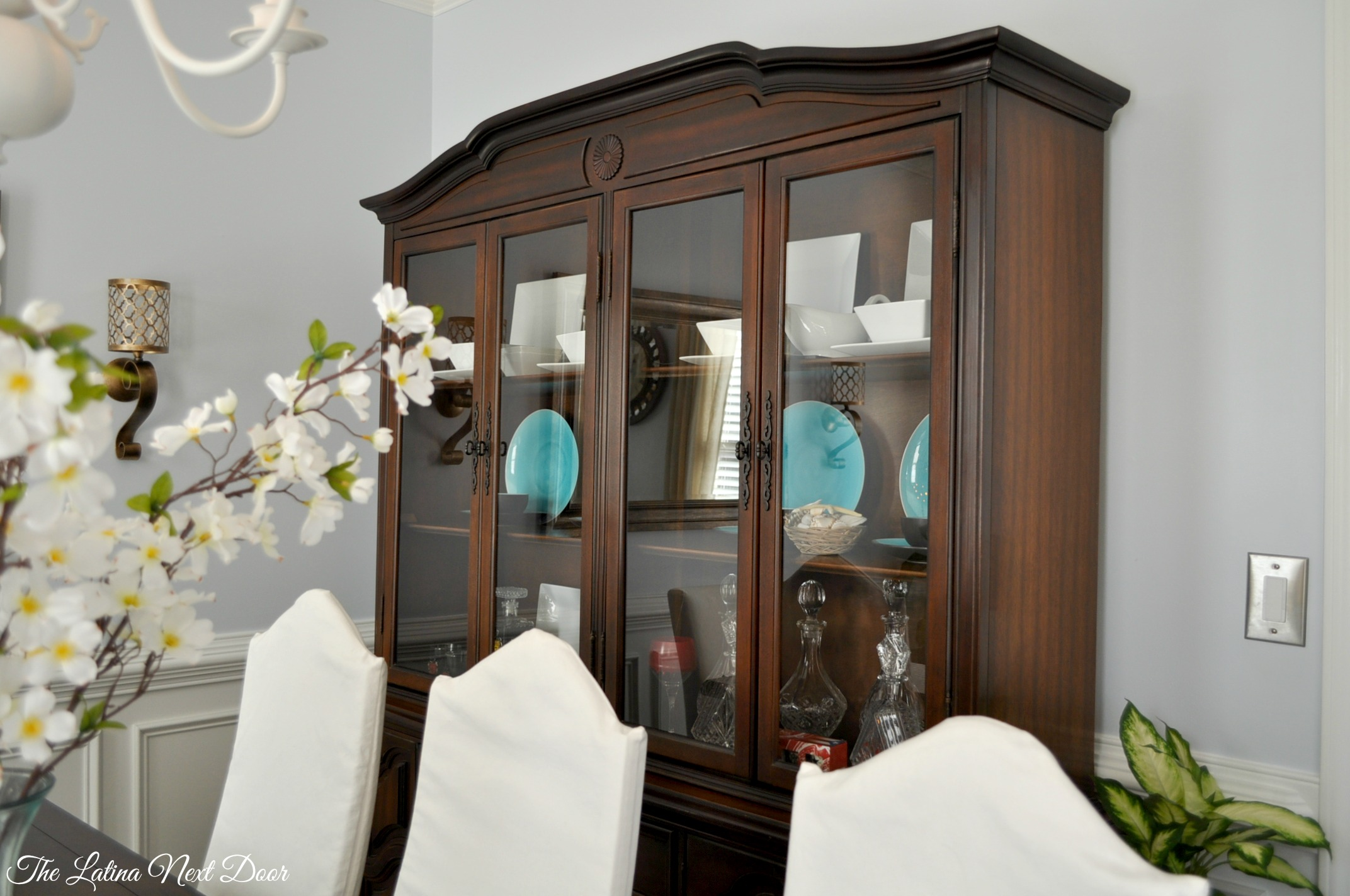 China Cabinet Transformation And Dining Room Update The