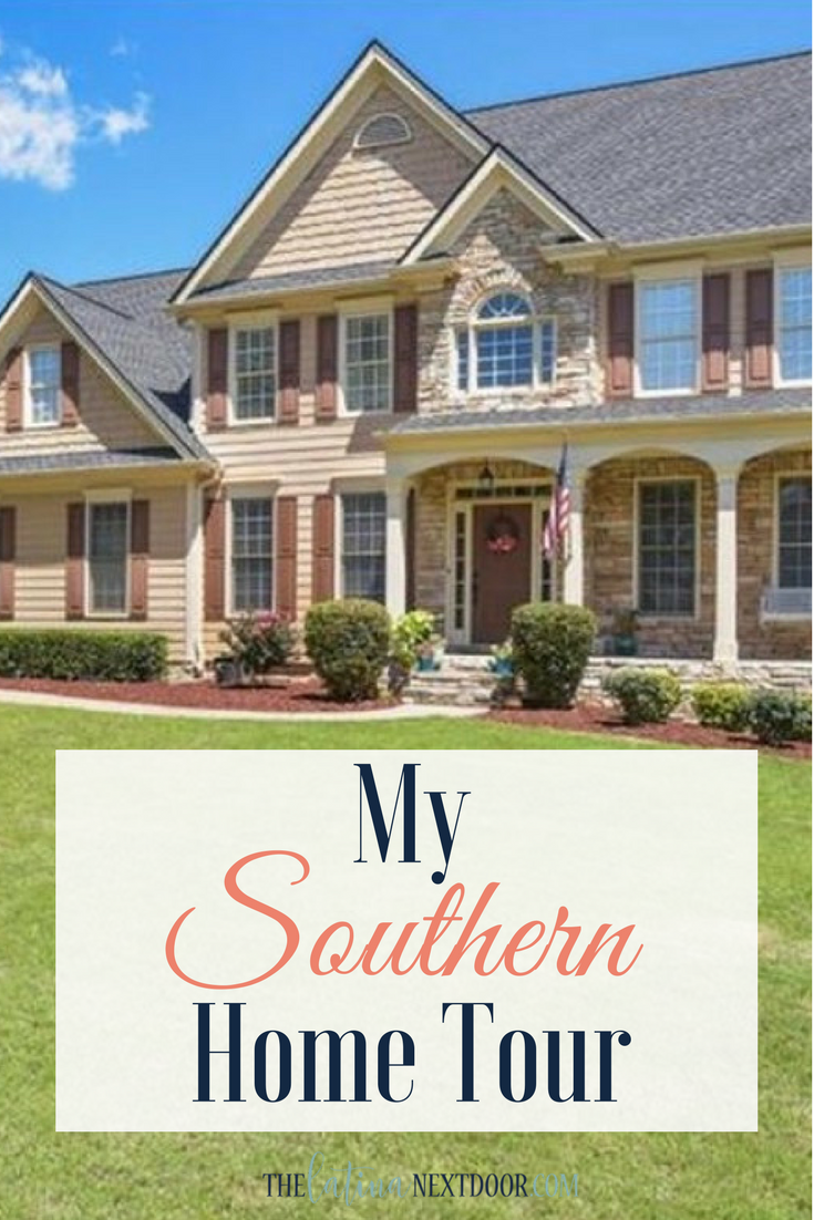 my southern home tour the latina next door. Black Bedroom Furniture Sets. Home Design Ideas