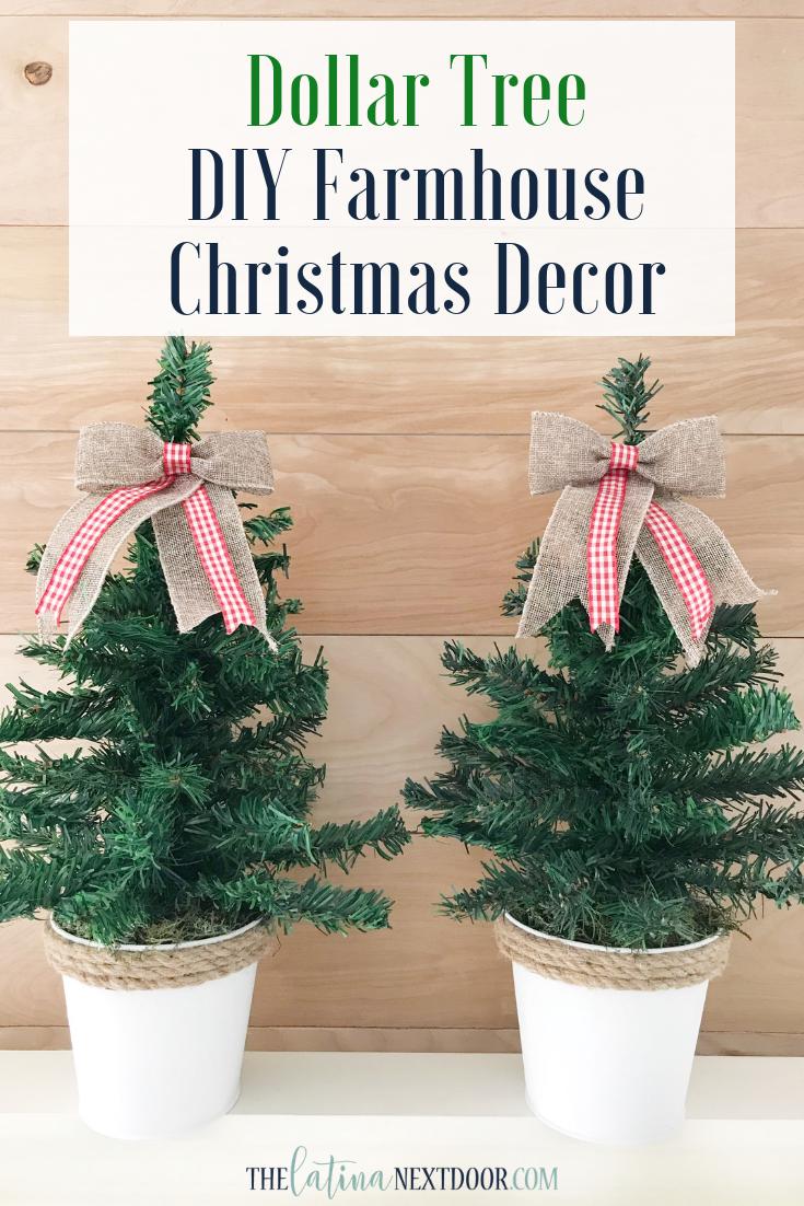 Diy Dollar Tree Christmas Trees The Latina Next Door