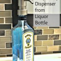 Soap Pump Dispenser from Liquor Bottle Project Gallery